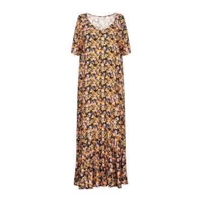 イチ ICHI 7分丈ワンピース・ドレス オレンジ XS レーヨン 100% 7分丈ワンピース・ドレス
