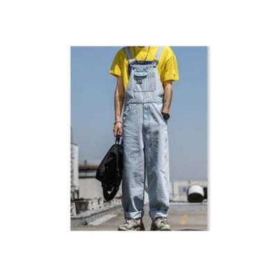 サロペット デニムパンツ メンズ オールインワン ワイドパンツ ゆったり 大きいサイズ 着痩せ おしゃれ ボトムス 2020 春物 夏物 新作 送料無料