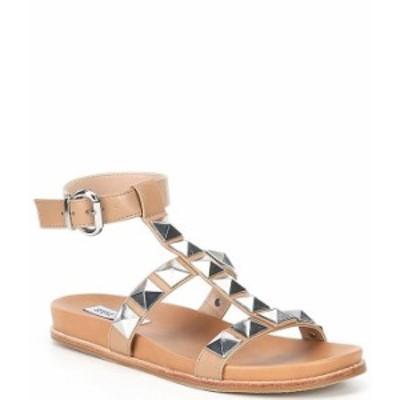 スティーブ マデン レディース サンダル シューズ Daft Studded Detail Sandals Tan