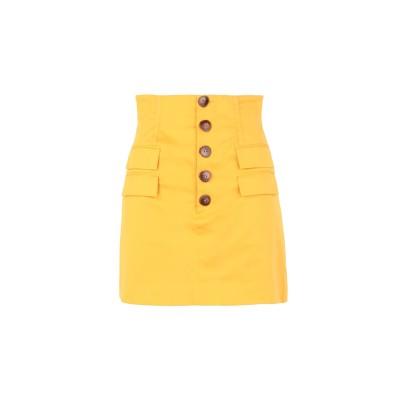 カメオコレクティブ C/MEO COLLECTIVE ひざ丈スカート オークル M コットン 97% / ポリウレタン 3% ひざ丈スカート