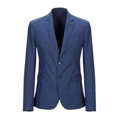 トラサルディ ジーンズ TRUSSARDI JEANS テーラードジャケット ブルーグレー 48 コットン 97% / ポリウレタン 3% テーラー