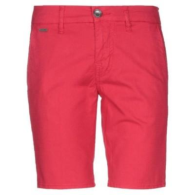 GUESS ショートパンツ&バミューダパンツ ファッション  メンズファッション  ボトムス、パンツ  ショート、ハーフパンツ レッド