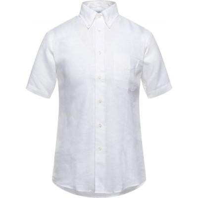 ブルックス ブラザーズ BROOKS BROTHERS メンズ シャツ トップス Linen Shirt White
