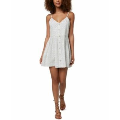 オニール レディース ワンピース トップス Juniors' Vivette Mini Dress Winter White