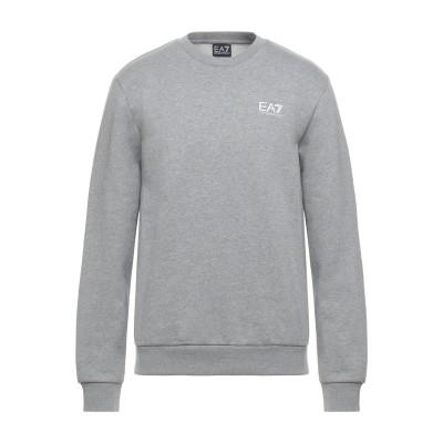 EA7 スウェットシャツ グレー L コットン 84% / ポリエステル 16% / ポリウレタン スウェットシャツ
