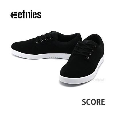エトニーズ スコア etnies SCORE スニーカー スケートボード シューズ スケシュー 靴 メンズ SKATEBOARD アパレル カラー:BLACK/WHITE