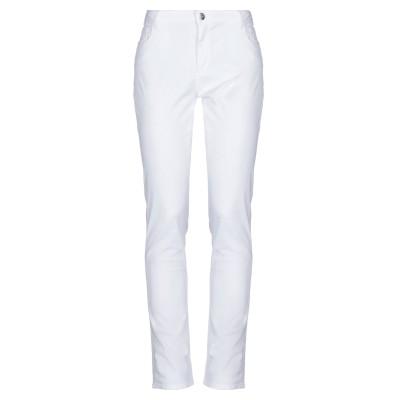 トラサルディ ジーンズ TRUSSARDI JEANS パンツ ホワイト 34 コットン 98% / ポリウレタン 2% パンツ