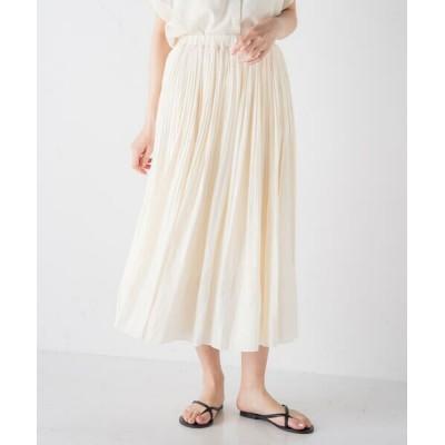 MAYSON GREY/メイソングレイ 【socolla】消しプリーツスカート アイボリー M
