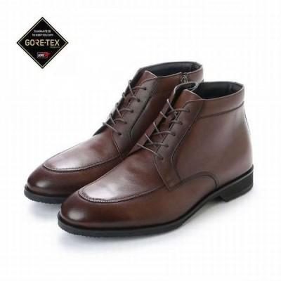 マドラスウォーク 靴 メンズ madras Walk SPMW8006 ブラウン 本革 4E EEEE メンズ チャッカーブーツ ビジネスブーツ