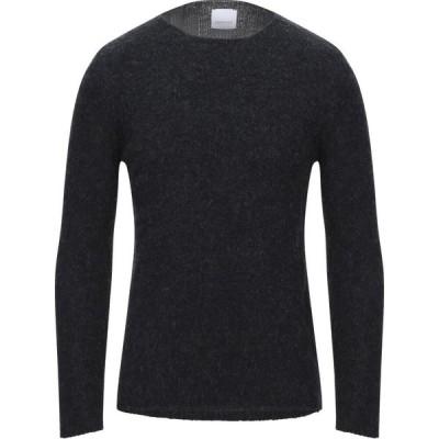 ベルウッド BELLWOOD メンズ ニット・セーター トップス Sweater Steel grey