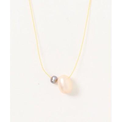 ネックレス 【V&SSS】gem & sv925 necklace 天然パール