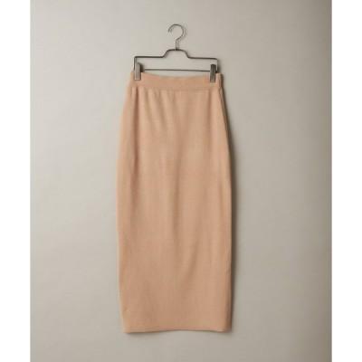 スカート ミラノリブタイトスカート
