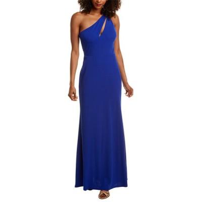 ベベ ワンピース トップス レディース Bebe One-Shoulder Dress cobalt