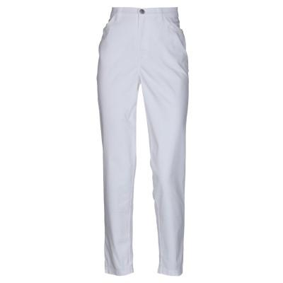 MAURICE ABOT パンツ ホワイト 40 コットン 98% / ポリウレタン 2% パンツ