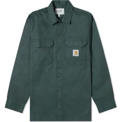 カーハート Carhartt WIP メンズ シャツ トップス Master Shirt Dark Teal