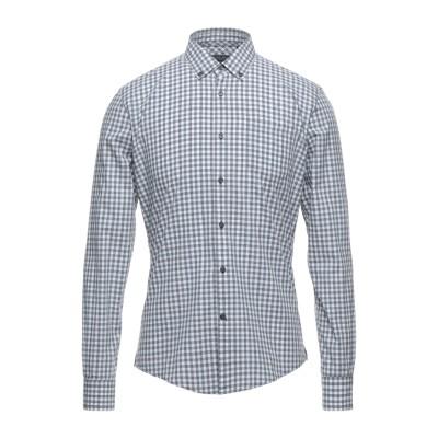 ウールリッチ WOOLRICH シャツ ライトグレー M コットン 100% シャツ