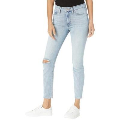 レディース パンツ Barbara High-Rise Super Skinny Crop Jeans in Baby Face