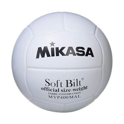 ミカサ(MIKASA) ママさんバレーボール 4号 練習球 (中学生・ママさん) ホワイト 天然皮革 MVP400MALP 推奨内圧0.3(kgf/?