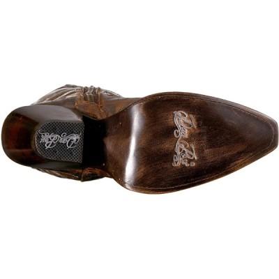 Dan Post Boots Women's JILTED Western Boot, Brown, 7 M US