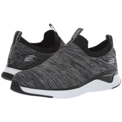 スケッチャーズ SKECHERS メンズ スニーカー シューズ・靴 Solar Fuse Black/White