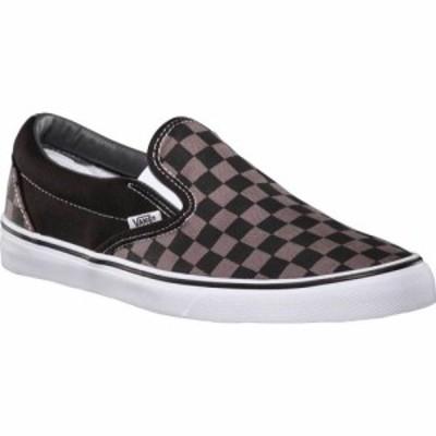 ヴァンズ Vans メンズ スリッポン・フラット シューズ・靴 Classic Slip-On Black/Pewter Checkerboard