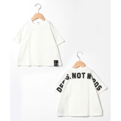 (JEANS‐b/ジーンズベー)deeds Tシャツ/ オフホワイト