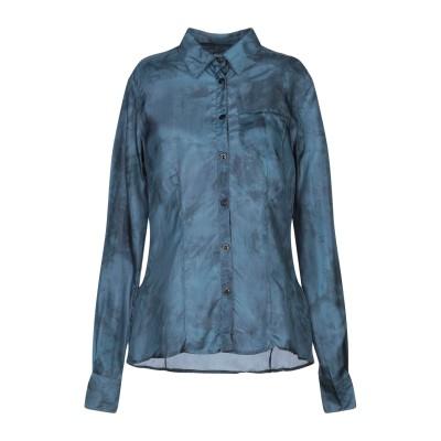 COAST WEBER & AHAUS シャツ ディープジェード 42 シルク 100% シャツ