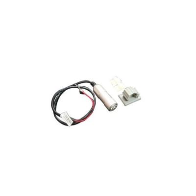 KN企画 バイク その他電装関連 車載用 USB電源ユニット [アルミボディー/シルバー] USB-02SV
