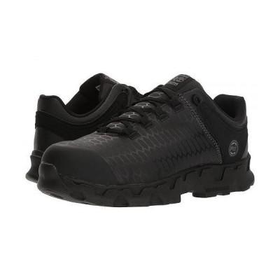 Timberland PRO ティンバーランド メンズ 男性用 シューズ 靴 スニーカー 運動靴 Powertrain Sport Alloy Safety Toe SD - Black