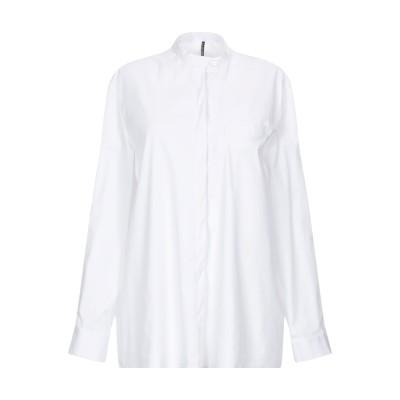 リビアナ コンティ LIVIANA CONTI シャツ ホワイト 38 コットン 68% / ナイロン 29% / ポリウレタン 3% シャツ