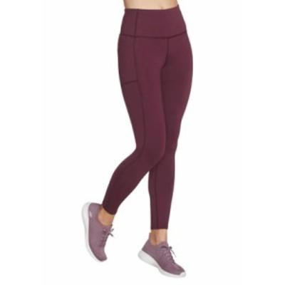 スケッチャーズ レディース レギンス ボトムス GoWalk GoFlex High-Waisted Leggings Purple
