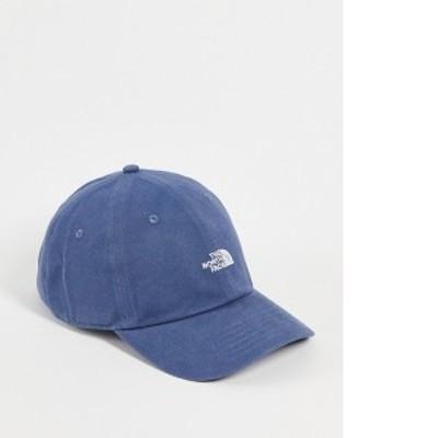 ノースフェイス レディース 帽子 アクセサリー The North Face Washed Norm cap in blue BLUE