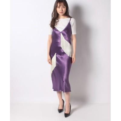 【k3 OUTLET】 BARBARELLA DRESS レディース パープル XS k3 OUTLET