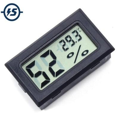 全国送料無料 電子部品 LCD デジタル Lcd 温度計湿度計ミニ電子温度湿度計内蔵プローブ FY-11 48*28.6*15.2 ミリメートル