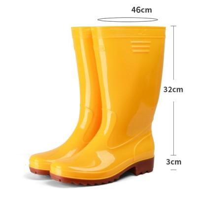 レインブーツ 長靴 作業長靴 レインシューズ 耐滑 耐油 耐薬 メンズ 雨靴 オシャレ 無地 防水 台風 耐滑 アウトドア 梅雨対策