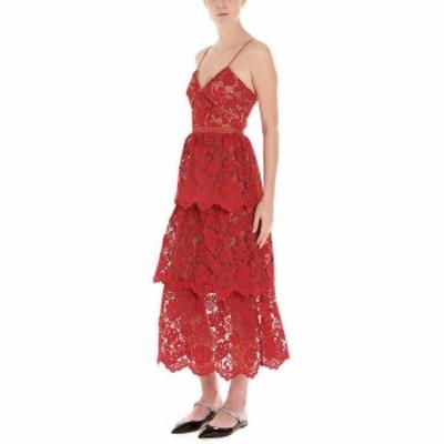 SELF PORTRAIT/セルフ ポートレート Red Lace dress レディース 春夏2020 RS20113FFUCHSIA ju
