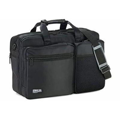ビジネスバッグ メンズ 3way 大容量 軽量 出張 A4 B4 自立  ショルダーベルト キャリーオン マチ拡張 2室 多機能 横幅45cm