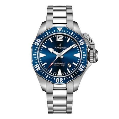 ハミルトン メンズ 腕時計 アクセサリー Khaki Navy Frogman Automatic Bracelet Watch