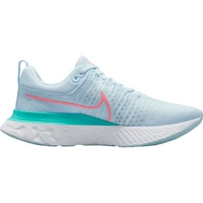 ナイキ シューズ レディース ランニング Nike Women's React Infinity Run Flyknit 2 Running Shoes Blue/Pink