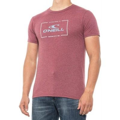 オニール O'Neill メンズ Tシャツ トップス Connection T-Shirt - Short Sleeve Burg Black Hthr