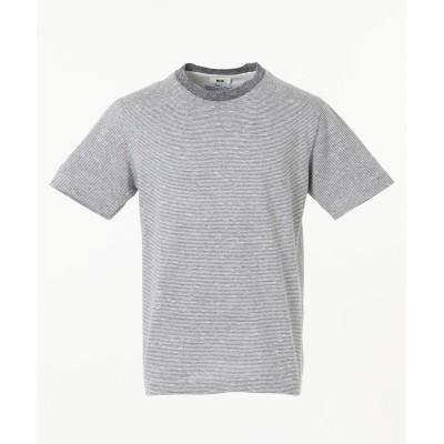 リネンボーダーTシャツ
