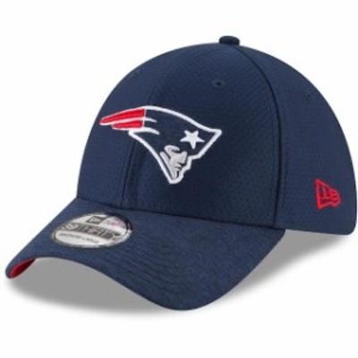 New Era ニュー エラ スポーツ用品  New Era New England Patriots Navy Popped Shadow Team 39THIRTY Flex Hat