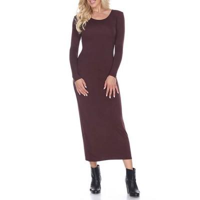 ホワイトマーク レディース ワンピース トップス Women's Ria Maxi Dress