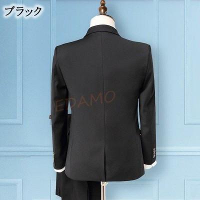 メンズ スーツ フォーマル ブラック リクルートスーツ 3点セット 紳士服 ビジネススーツ 面接 就職活動 グレー ワイン 3ピーススーツ