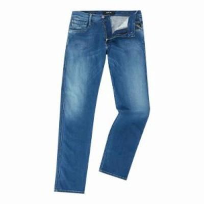 リプレイ ジーンズ・デニム Hyperflex Slim Fit Anbass Jeans denim