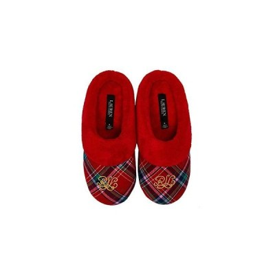 LAUREN Ralph Lauren Holiday Slippers レディース スリッパ スリッポン Red Plaid