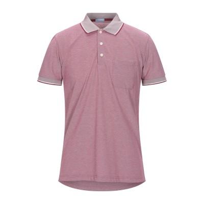 HERMAN & SONS ポロシャツ ボルドー M コットン 80% / ポリエステル 20% ポロシャツ