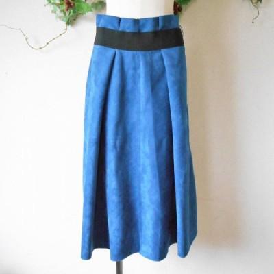 秋冬 向き ピーチスキン 切替 の お洒落 な スカート XL