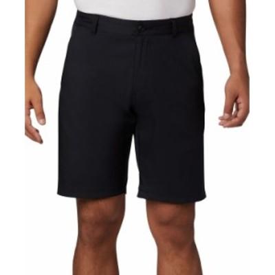 コロンビア メンズ ハーフパンツ・ショーツ ボトムス Men's Mist Cooling UPF 50 Trail 10 Shorts Black