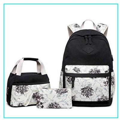 Onbay1 Women Backpack Clutch Handbag Floral Printed Patchwork 3-piece Composite Bag Set Backpacks【並行輸入品】